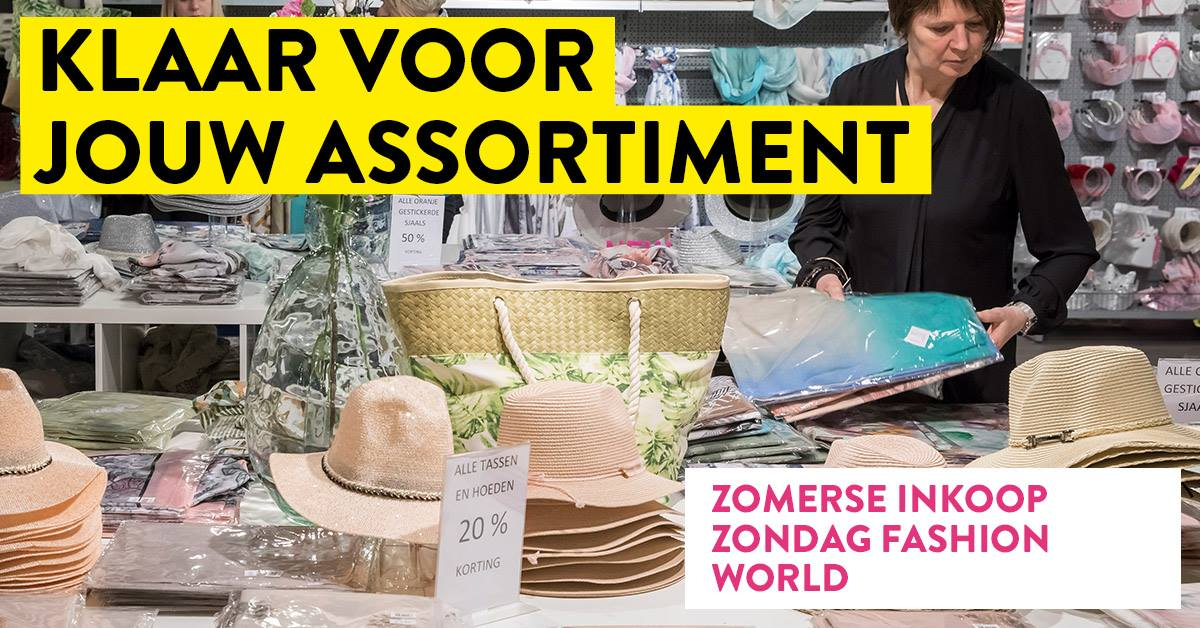 Koopzondag Fashion World | 15 juli 2018 | Trade Mart