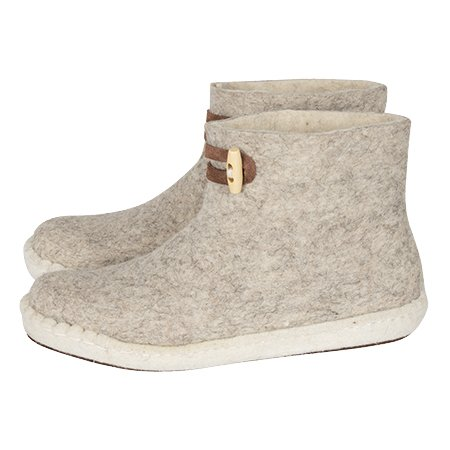 High boots light grey