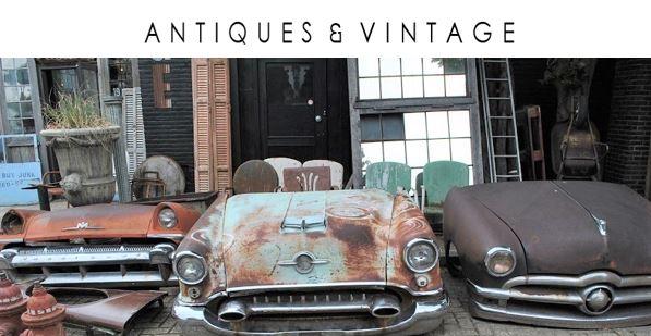 Vintage uit de USA, Frankrijk en Egypte   Antiques & Vintage