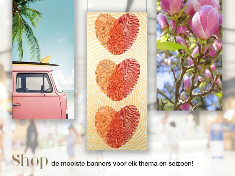 Shop de mooiste banners voor elk thema & seizoen | Eggink verpakkingen