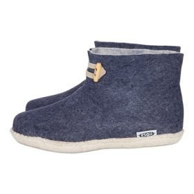 High Boots navy blue