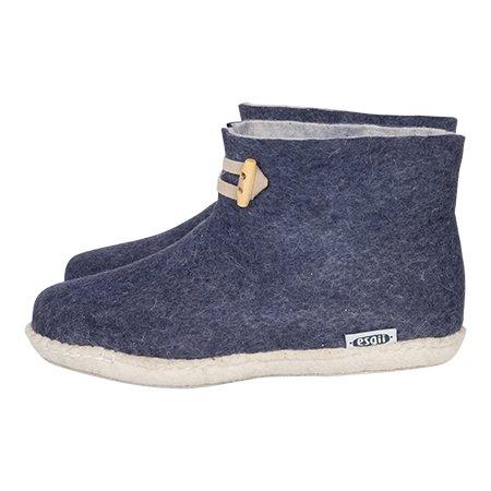 High Boots navy blue