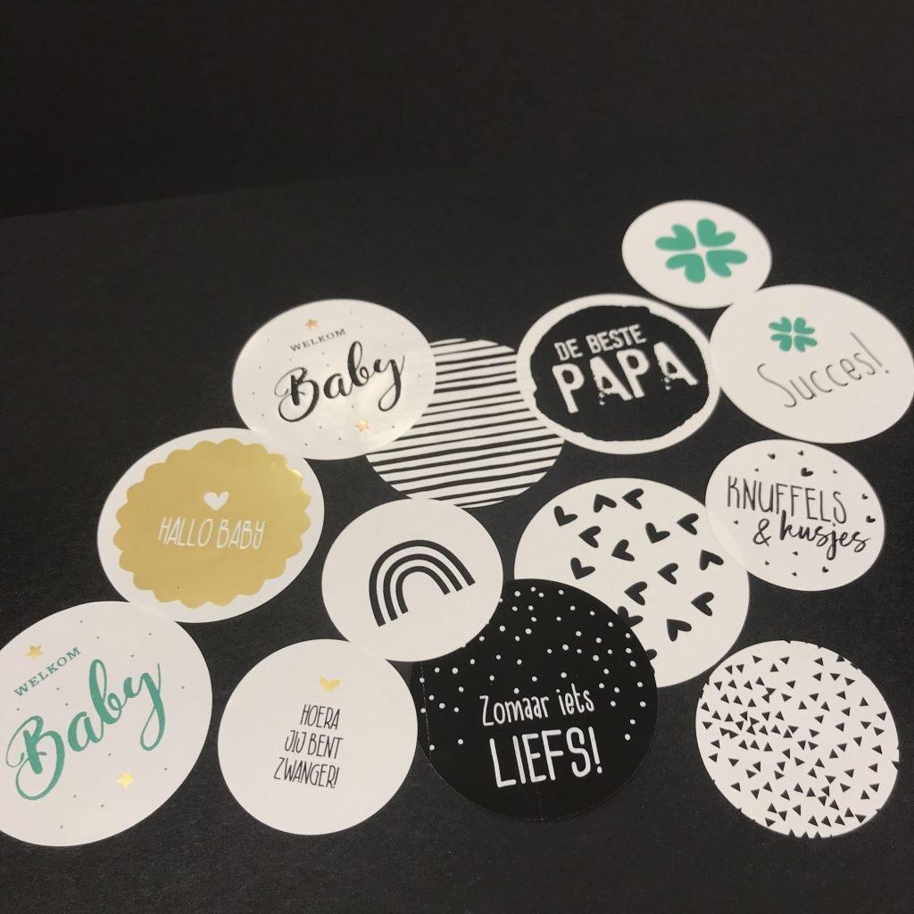 Nieuwe etiketten, stickers, labels, linten | Eggink verpakkingen