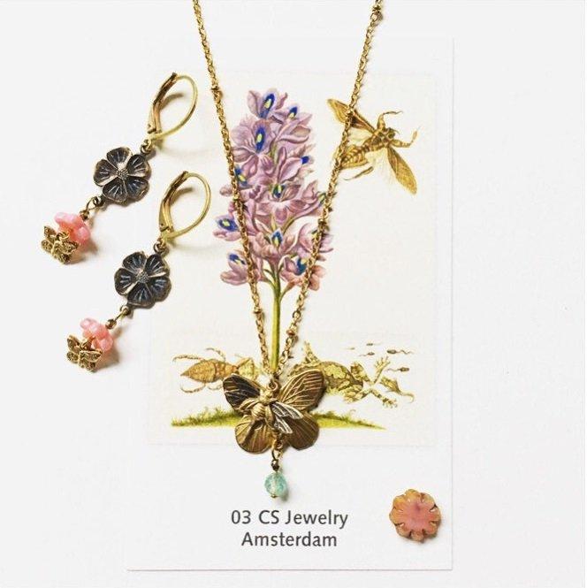 Maria Sybilla Merian | Nieuwe website met webshop | 03 CS Jewelry