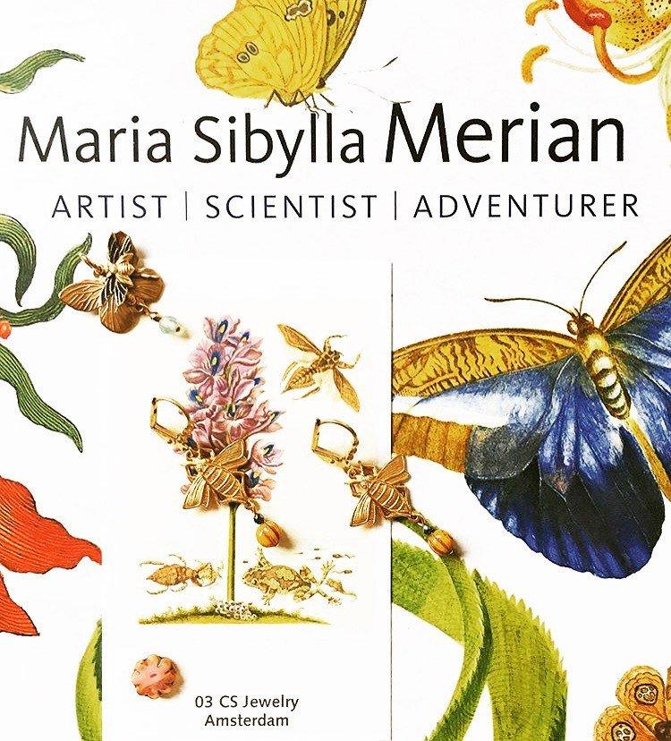 Maria Sibylla Merian | Nieuwe website met webshop | 03 CS Jewelry