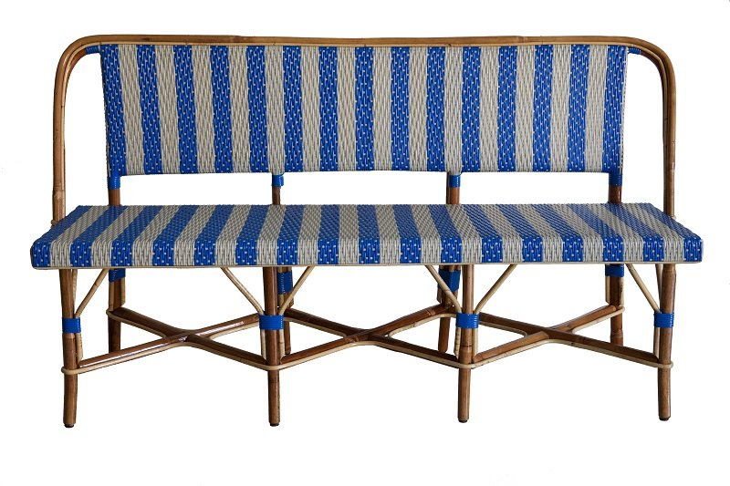 HA50 | Originele Franse terrasstoelen en bistrotafels