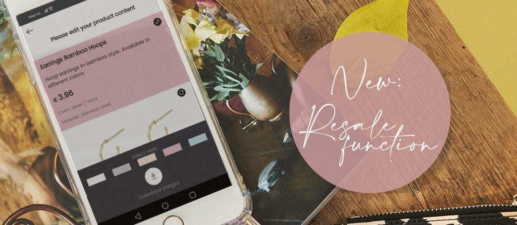 Nieuwe app & website met doorverkoop functie voor Yehwang-distributeurs!